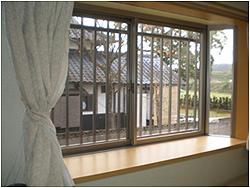 熊本県菊池市の内窓(二重窓)リフォーム施工例の施工前の写真です。