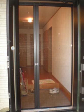 熊本県菊池市の網戸取り付け・張り替えリフォーム施工例の施工後の写真です。