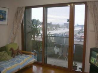 熊本県熊本市の内窓(二重窓)リフォーム施工例の施工後の写真です。