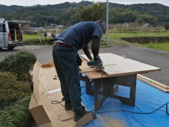 プラスト 木目 4枚建て うきは K様 (6)